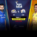 IPL 2020: आज मुंबई-चेन्नई के मैच से शुरू होगा 'महासंग्राम' तीन विदेशी खिलाड़ी के साथ उतर सकती हैं CSK